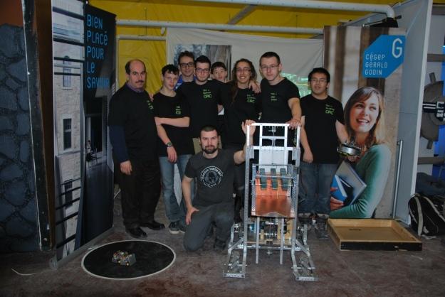 L'équipe de robotique de Gérald-Godin